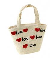 Молодежная плетенная сумка