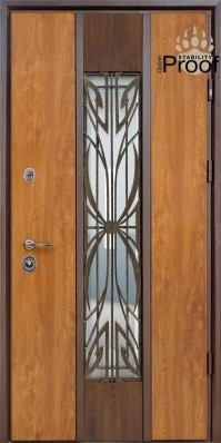 Двери уличные, STRAJ Proof, модель Цезарь Proof, комплектация Proof Standard Hook, MUL-T-LOCK 352k