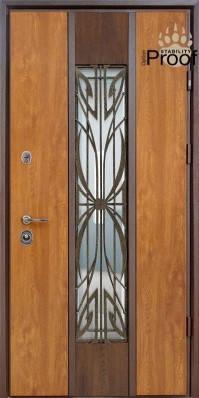 Двери уличные, STRAJ Proof, модель Цезарь Proof, комплектация Proof Standard Hook, MUL-T-LOCK 352k, фото 2