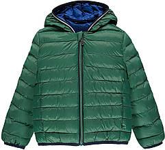 Демісезонне Куртка Куртка Для Хлопчика Зеленого Цвета З Каптуром, Brums, Італія 110 см весняна осіння