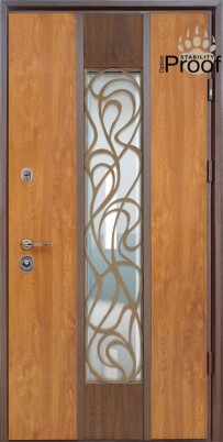 Двери уличные, STRAJ Proof, модель Невада Proof, комплектация Proof Standard Hook, MUL-T-LOCK 352k