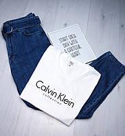 Топовая женская футболка CK, стильна жіноча футболка