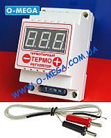 Терморегулятор цифровой термопарный ЦТР-2т (-99...+999) с термопарой TP-01 K-типа 1 метр (-50...+400°C), фото 1