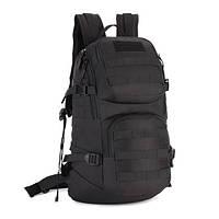Тактический городской рейдовый рюкзак double pack 30L Protector Plus black, фото 1