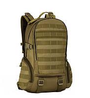 Тактичний міської рейдовий рюкзак molle platform 27L Protector Plus coyot, фото 1