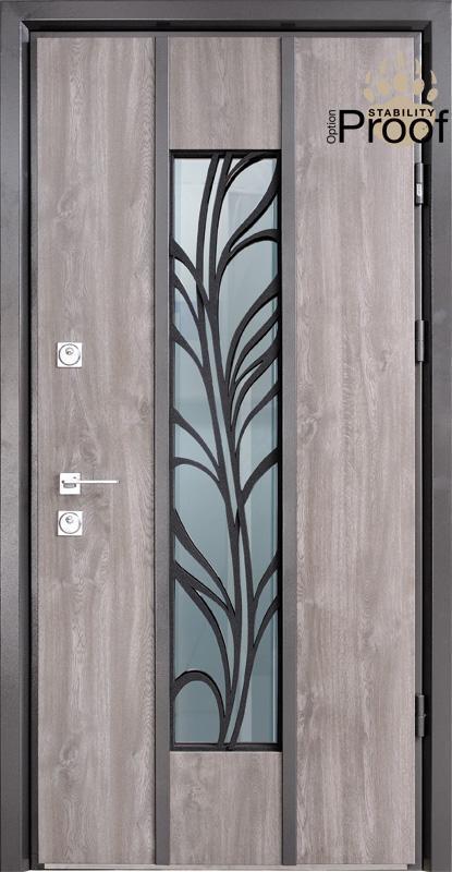 Двери уличные, STRAJ Proof, модель Calibri Proof, комплектация Proof Standard Hook, MUL-T-LOCK