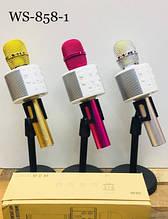 Беспроводной микрофон для караоке WS858-1