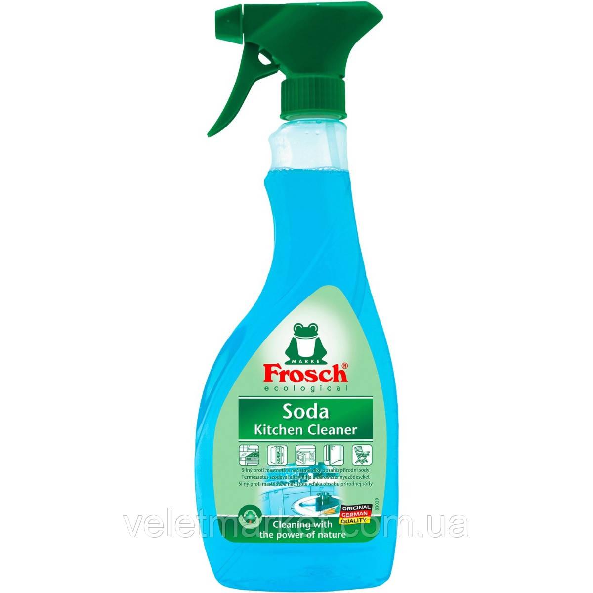 Очиститель для кухни Frosch с натуральной содой 500 мл