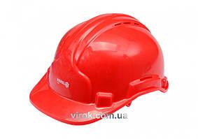Каска для защиты головы VOREL красная