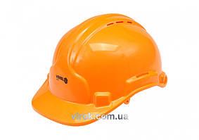 Каска для защиты головы VOREL оранжевая