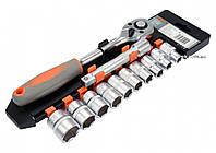 Набор головок торцевых STHOR 1/2 М10-24 мм 10 предметов