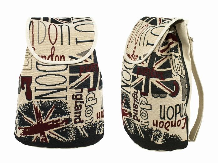 Рюкзак городской холщовый London
