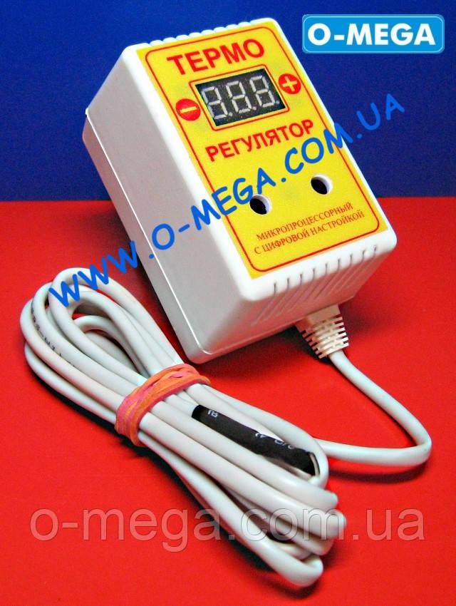 Терморегулятор цифровой ЦТР-2 розеточный 10А (-40...+125)