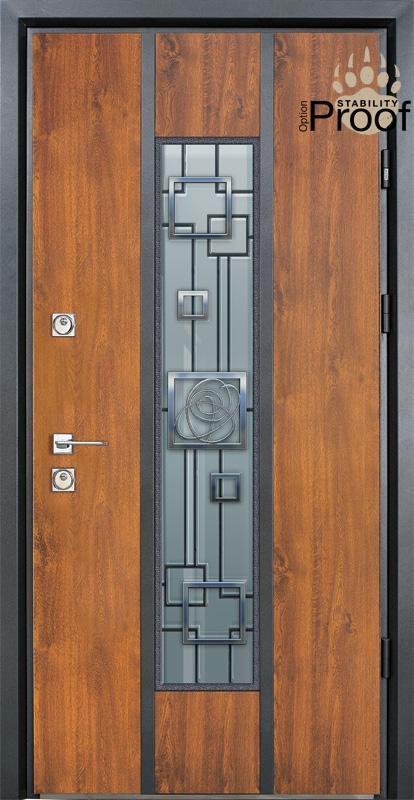 Двери уличные, STRAJ Proof, модель Alfa(285), комплектация Proof Standard Hook, MUL-T-LOCK