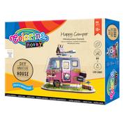 """Набор для создания миниатюрного домика """"Happy Camper"""", Colorino"""