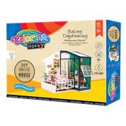 "Набор для создания миниатюрного домика ""Balcony Daydreaming"", Colorino"