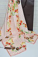 Шелковый платок в стиле Louis Vuitton красивая новинка