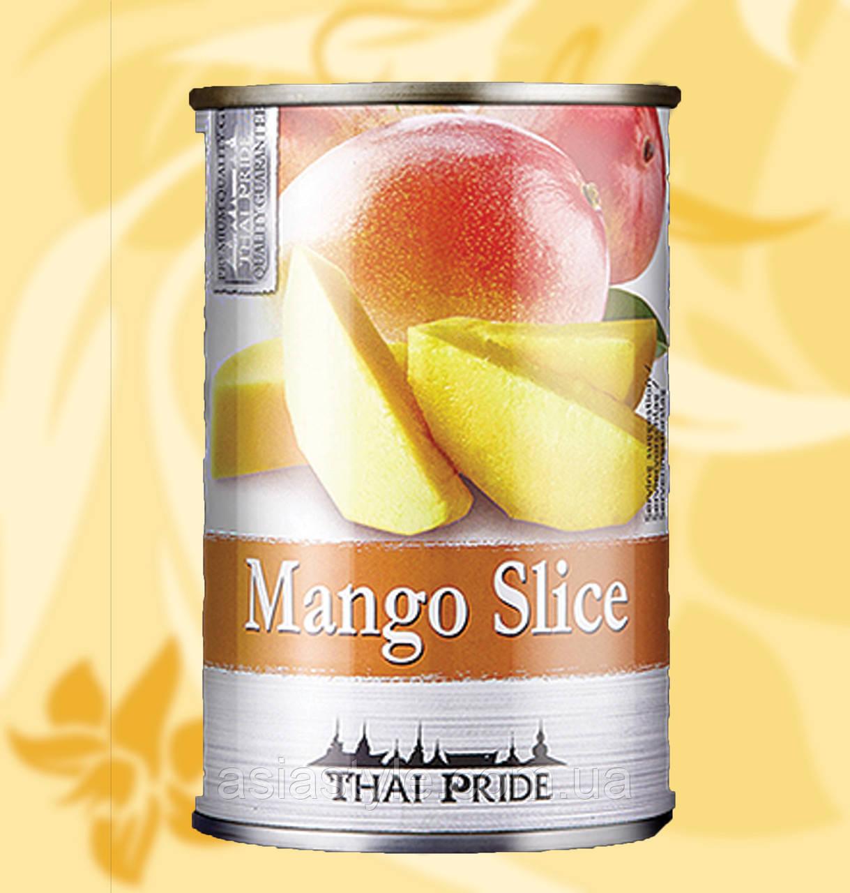 Манго в сиропі, слайси, Thai Pride, 425г, Таїланд, АФ