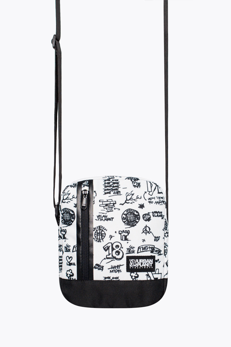 Мессенджер сумка через плечо M5 DRAW WHT Urban Planet (сумка женская, сумка мужская, сумки)