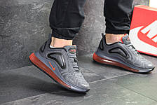 Мужские кроссовки Nike air max 720,плотная сетка, серые 43,44р, фото 3