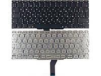 Клавиатура для ноутбука Apple MacBook Air A1370 big enter RU черная новая
