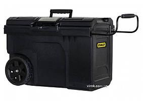 Ящик для інструменту на 2 колесах пластиковий STANLEY Line Contractor Chest 62 х 38 х 42 см 57 л