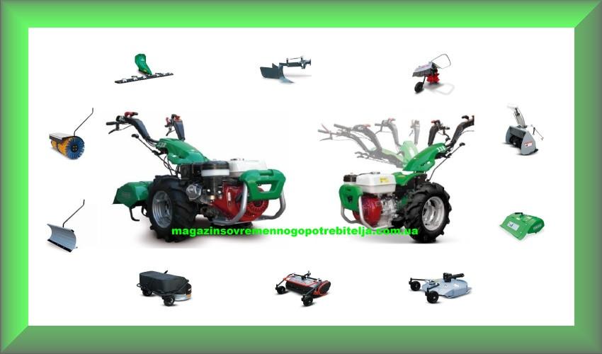 Двухколесный трактор (мотоблок) Ferrari 340 PowerSafe