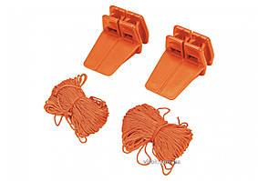 Угловые держатели VOREL со шнуром 18 м 2 шт