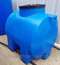 """Емкость пластиковая для воды OD 200л. горизонтальная """"Консенсус"""", фото 2"""