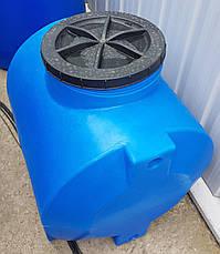 """Емкость пластиковая для воды OD 200л. горизонтальная """"Консенсус"""", фото 3"""