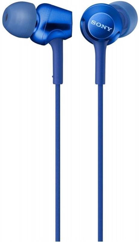 Гарнитура Sony MDR-EX255AP Blue (MDREX255APL.E)