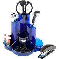 Набір настільний Axent Cascade 9 предметів синій 2105-02-A, 35174