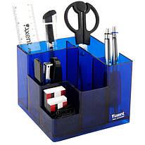 Набір настільний Axent Cube 9 предметів синій, 2106-02-A, 35177