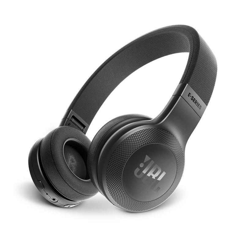 Bluetooth гарнитура JBL E45BT Black (JBLE45BTBLK)