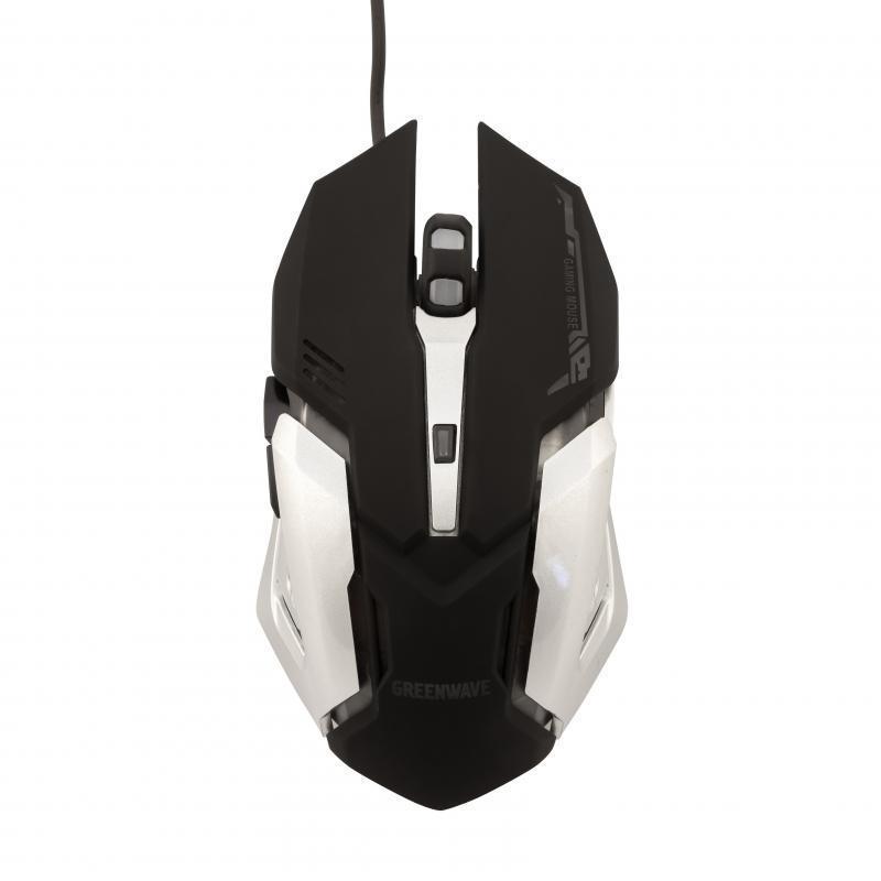 Мышь Greenwave GM-3263MB (R0015166) Black USB