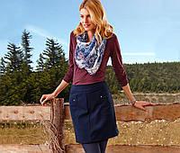 Красивая синяя юбка 42 евро размер наш 48 Tchibo Германия, фото 1