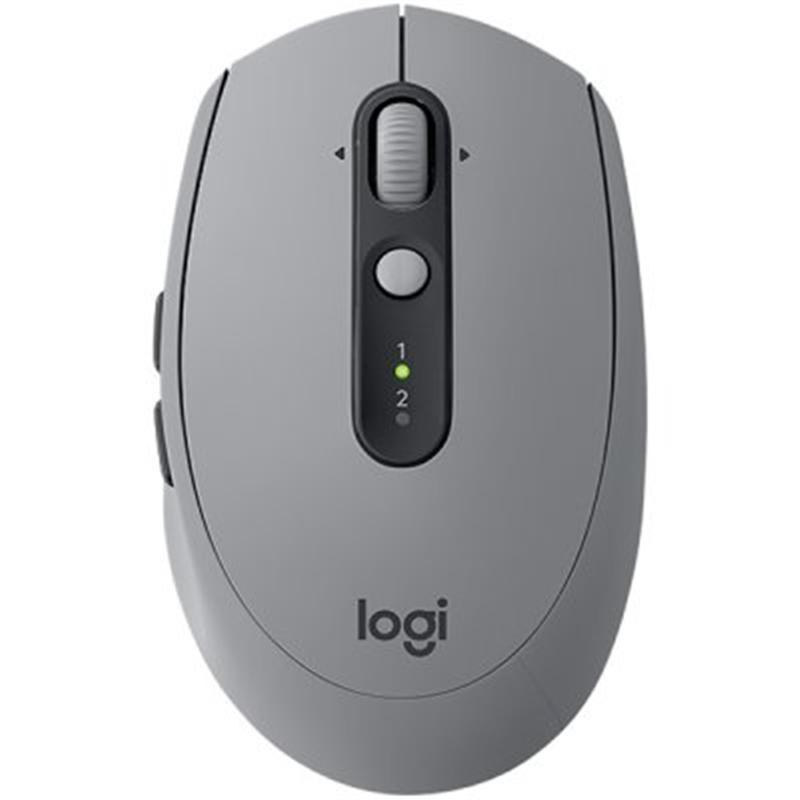 Мышь Bluetooth+Wireless Logitech M590 Silent (910-005198) Mid Grey