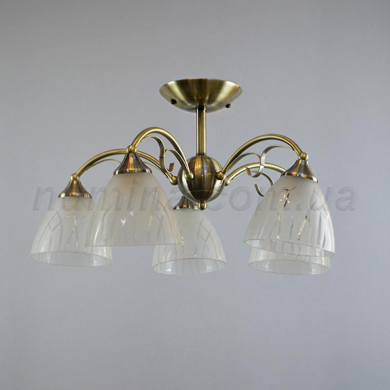 Люстра стельова на п'ять ламп QH-N1442/5