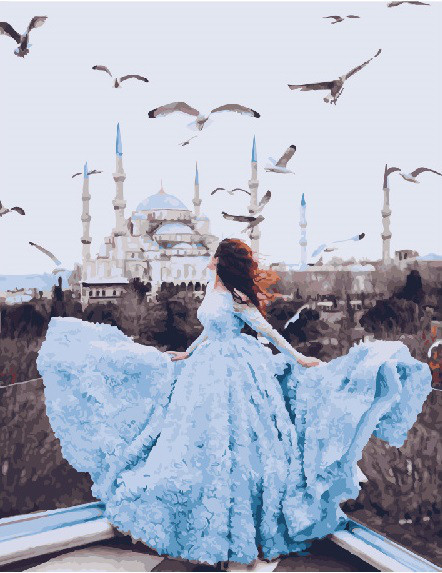 Картина по номерам Дыхание Стамбула, 40x50 см., Brushme
