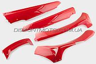 Пластик VIPER F1,  F50 комплект (красный) KOMATCU