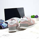 Женские кроссовки New Balance 574 розовые, фото 5