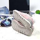 Женские кроссовки New Balance 574 розовые, фото 4