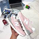 Женские кроссовки New Balance 574 розовые, фото 3