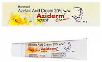 Aziderm крем 20% азелаиновая кислота аналог Скинорен крем 15 мл