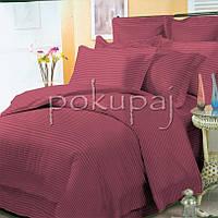 Комплект постельного белья Krispol страйп сатин люкс 200*220 евро стандарт 541840 с