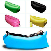 Надувной лежак шезлонг с рисунками | лазмак