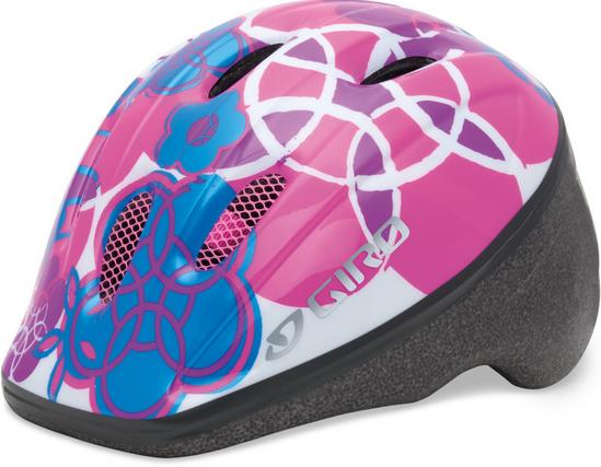 Велошлем детский Giro Me 2 белый/розовый Elements, Uni (48-52 (GT)