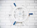 Штурвал на стену с компасом и поворотным механизмом 60 см, фото 4