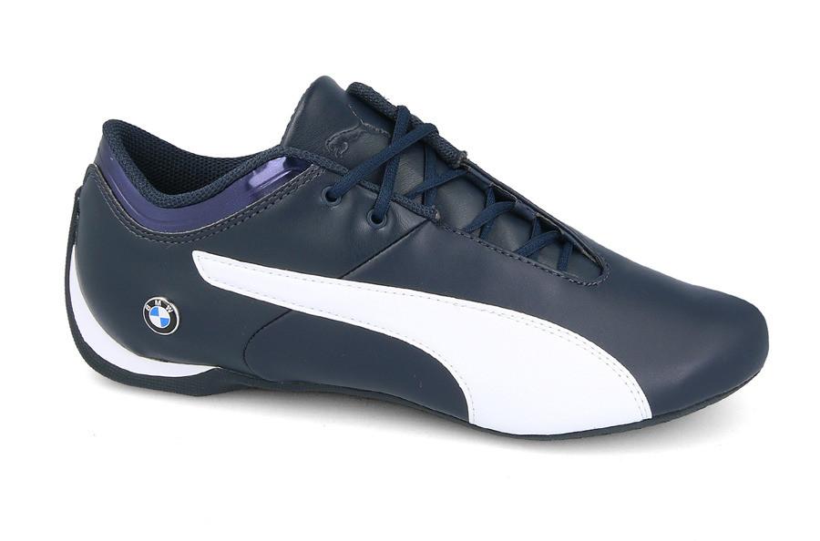 Кроссовки мужские кожаные   PUMA BMW MS FUTURE CAT (305987 01) синие