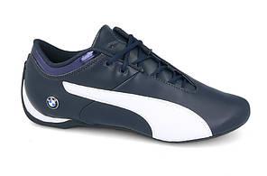 Кроссовки мужские кожаные   PUMA BMW MS FUTURE CAT (305987 01) синие, фото 2